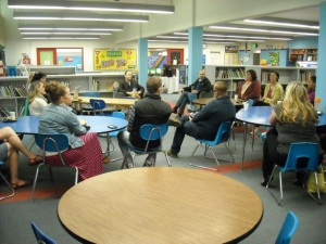 Coffee chat with Superintendent Trip Goodall
